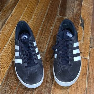 Adidas suede shoes